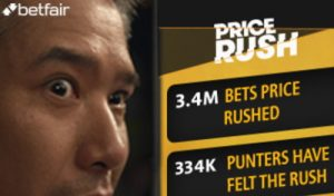 betfair price rush