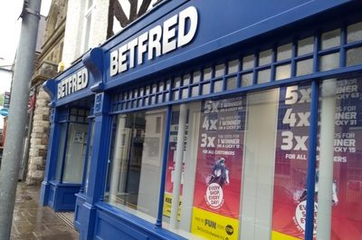 betfred high street shop