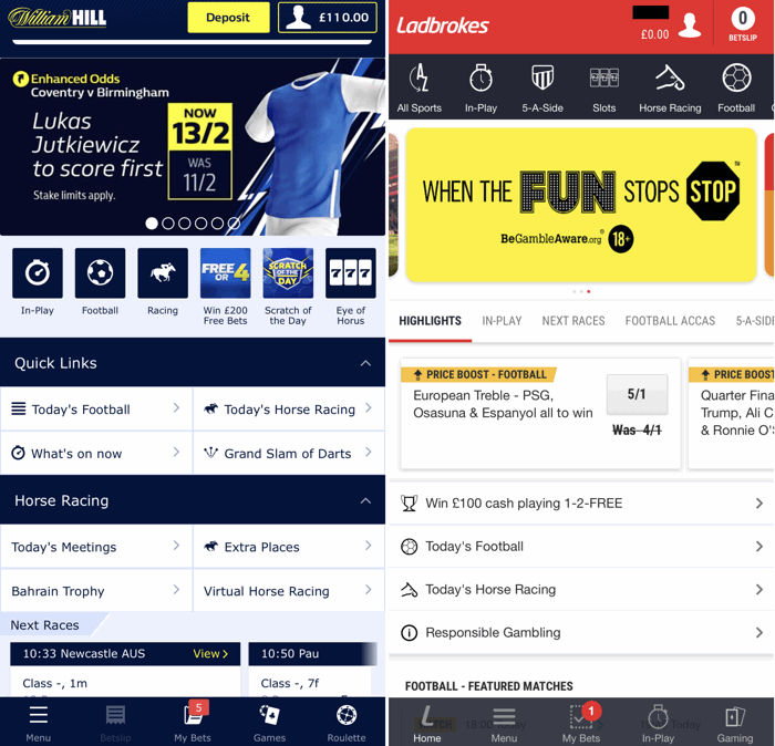 best mobile betting apps examples