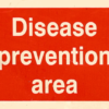disease prevention sign
