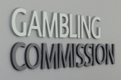 gambling commission sign
