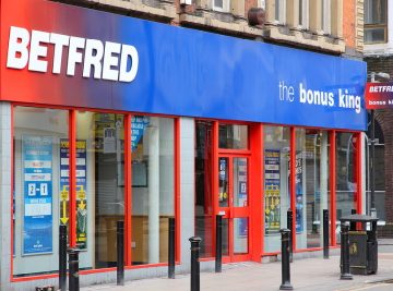 Betfred shop front