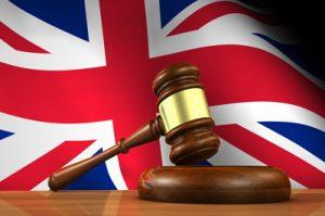 Bendera Hukum Inggris