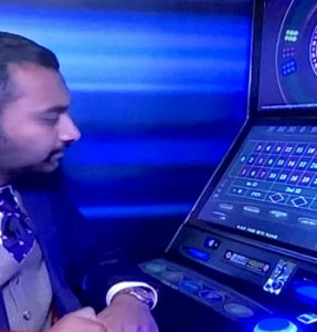 man with FOBT