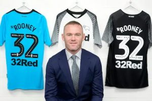 wayne rooney 32Red Shirt Sponsor