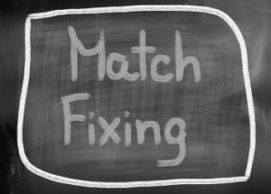 match fixing on chalk board