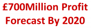£700 million profit