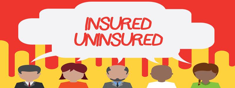 insured vs uninsured