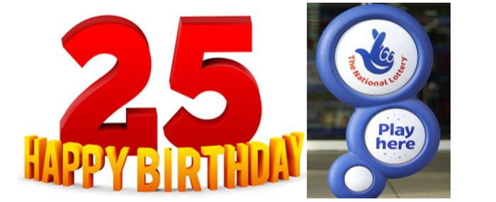 25 birthday national lottery
