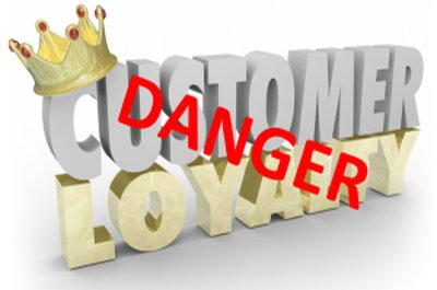 danger customer loyalty