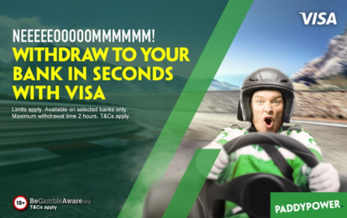 Paddy Power instant withdrawal