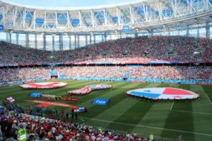 england world cup game against panama in russia 2018