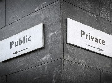 public private street signs