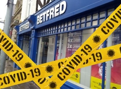 Betfred covid
