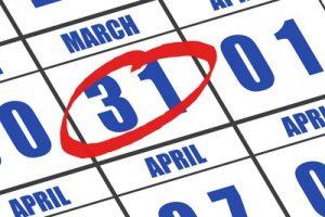 31 Maret