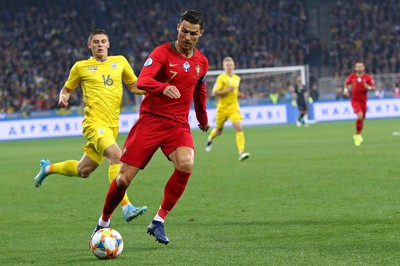 ronaldo playing for portugal