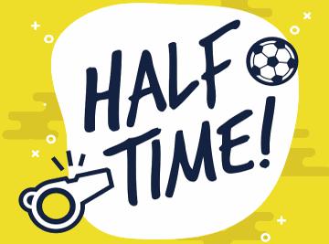 half time football