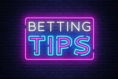 betting tips written in neon lights