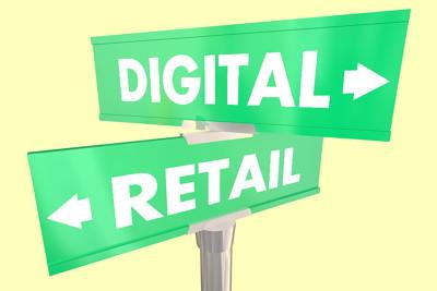 digital vs retail signs