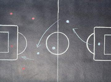football tactics board