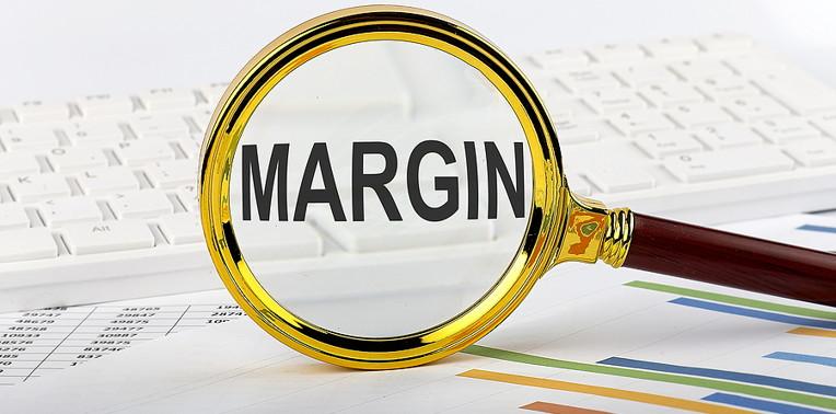 margin under a magnifying glass