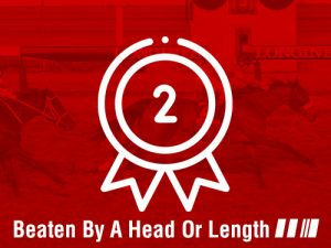beaten by a head or length