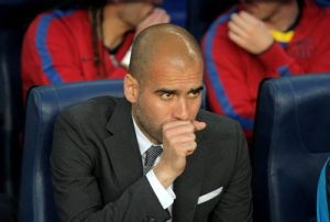 pep guardiola at barcelona
