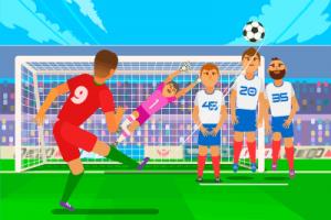 free kick illustration